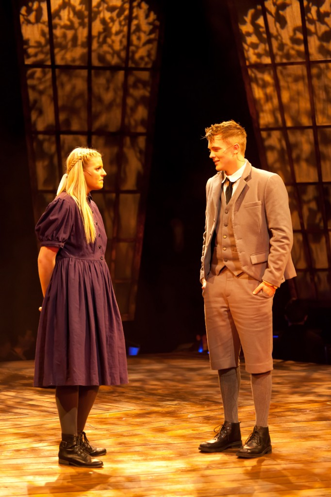 Raitor, left, as Wendla in our Fall 2013 production of Spring Awakening