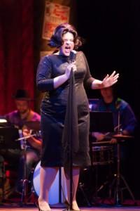 Taryn Snyder '15 in  Always...Patsy Cline, Spring 2014