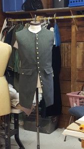 A vest Zabela made for a production at the Theatre at Monmouth.