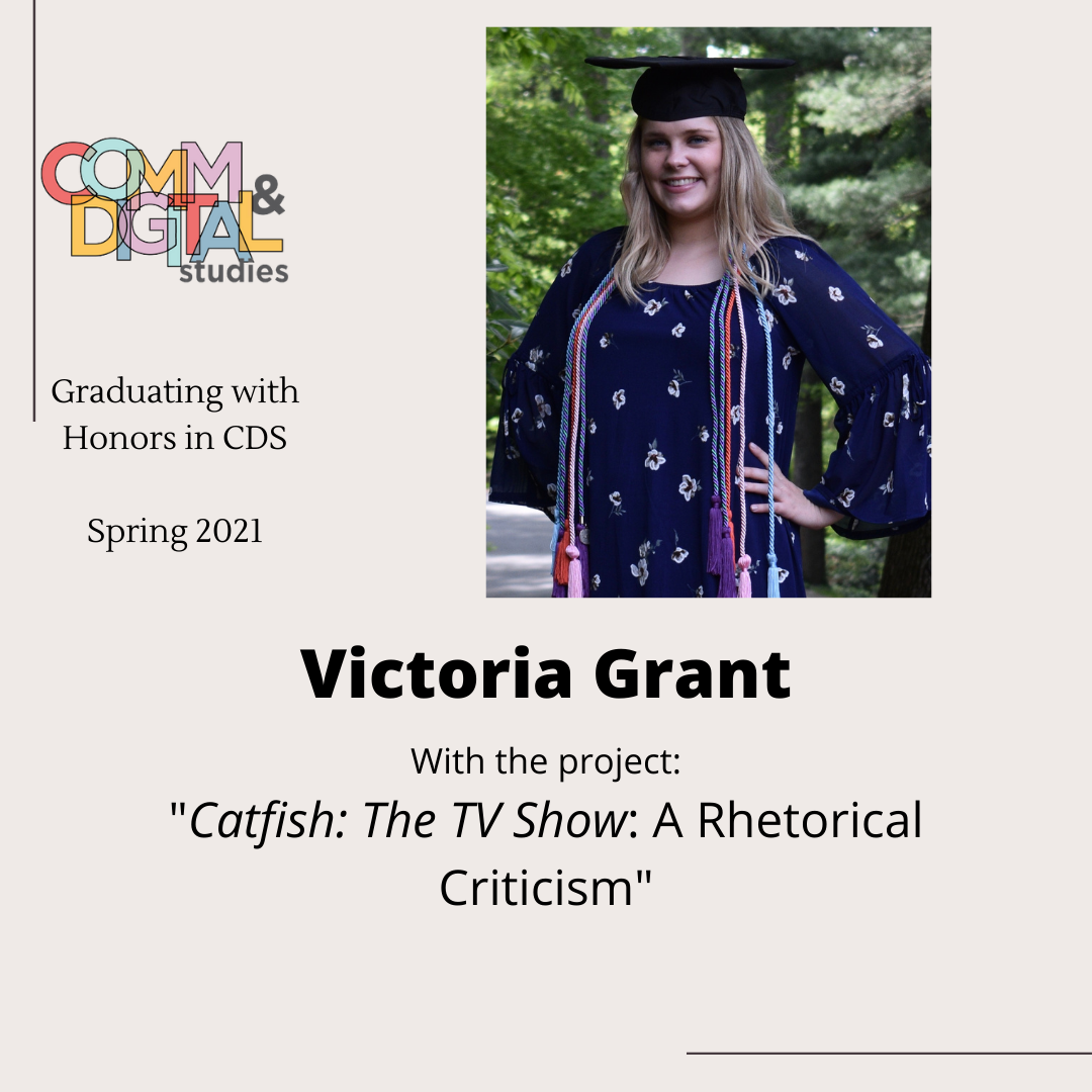 Victoria Grant – graduated with honors in 2021